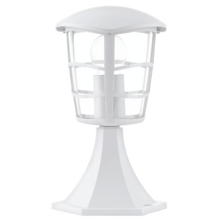 Садово-парковый светильник Eglo Aloria 93096, IP44, 1xE27x60W, белый, прозрачный, металл, металл с пластиком