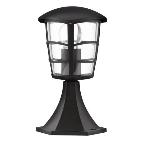 Садово-парковый светильник Eglo Aloria 93099, IP44, 1xE27x60W, черный, прозрачный, металл, металл с пластиком