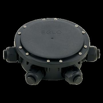 Соединительная коробка Eglo Connector Box 91207, IP68, черный, пластик