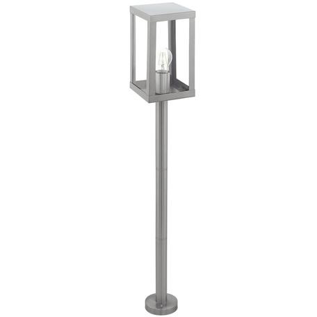 Уличный фонарь Eglo Alamonte 94829, IP44, 1xE27x60W, сталь, прозрачный, металл, стекло