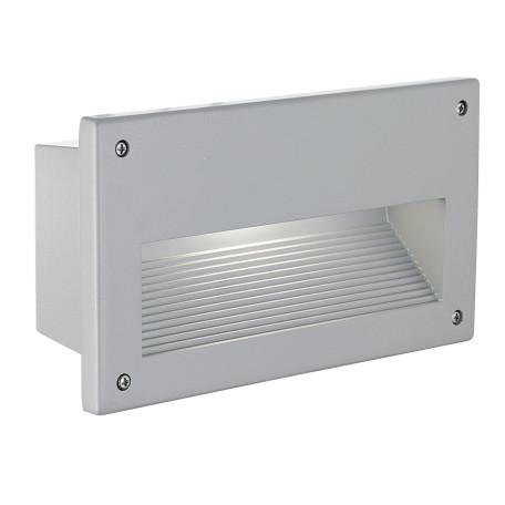 Встраиваемый настенный светильник Eglo Zimba 88575, IP44, 1xE14x60W, серебро, металл, стекло