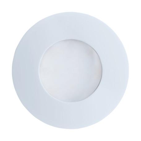 Встраиваемый светильник Eglo Margo 94093, IP65, 1xGU10x5W, белый, металл, стекло