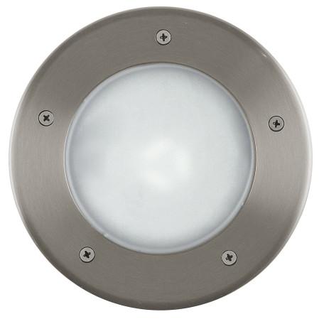 Встраиваемый в уличное покрытие светильник Eglo Riga 3 86189, IP67, 1xE27x15W, сталь, металл, пластик