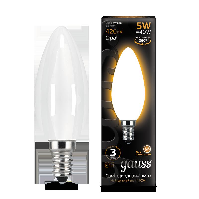 Филаментная светодиодная лампа Gauss 103201105, сталь - фото 1