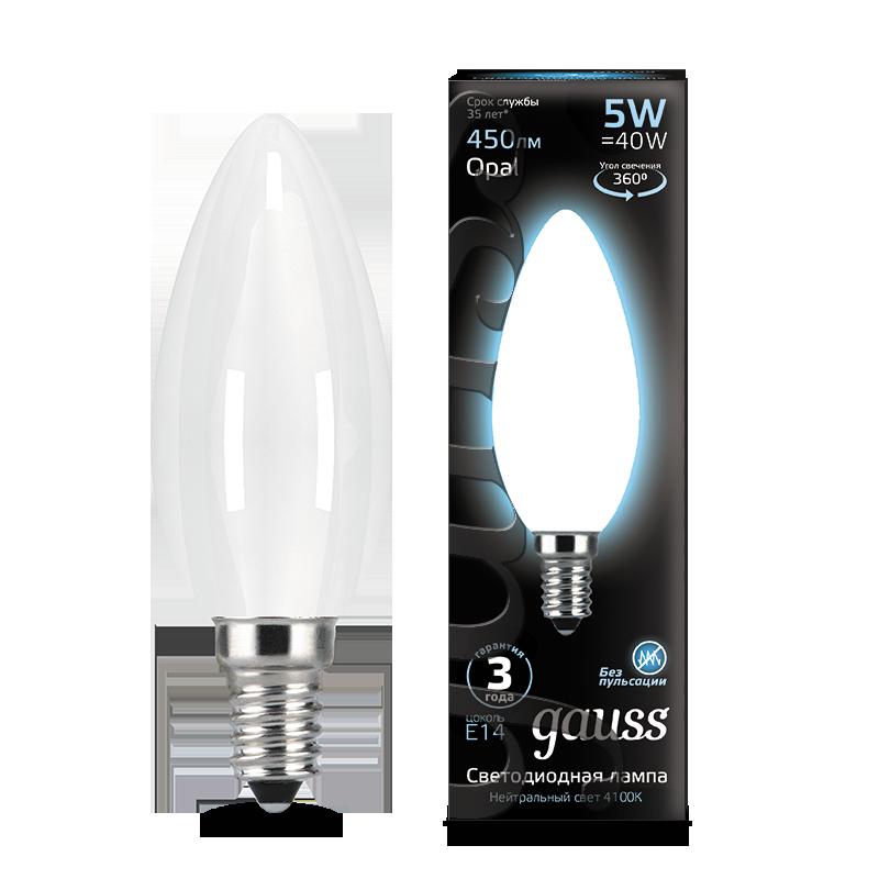 Филаментная светодиодная лампа Gauss 103201205, сталь - фото 1
