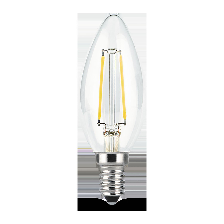 Филаментная светодиодная лампа Gauss 103801107 свеча E14 7W, 2700K (теплый) CRI>90 150-265V, гарантия 3 года - фото 3