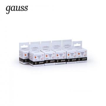 Светодиодная лампа Gauss Elementary 13519, белый - миниатюра 2