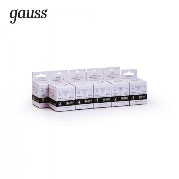 Светодиодная лампа Gauss Elementary 13537, белый - миниатюра 2