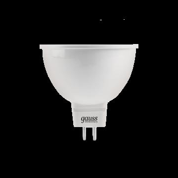 Светодиодная лампа Gauss Elementary 13537 MR16 GU5.3 7W, 6500K (холодный) CRI>80 180-240V, гарантия 2 года - миниатюра 2