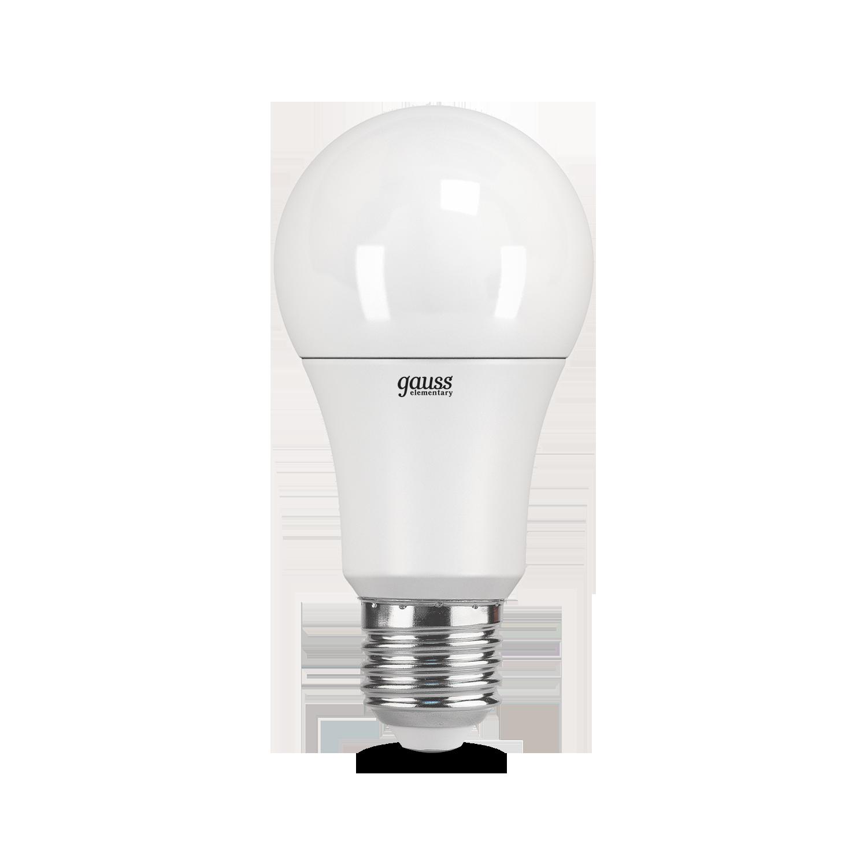 Светодиодная лампа Gauss Elementary 23221P груша E27 11W, 4100K (холодный) 180-240V, гарантия 2 года - фото 4
