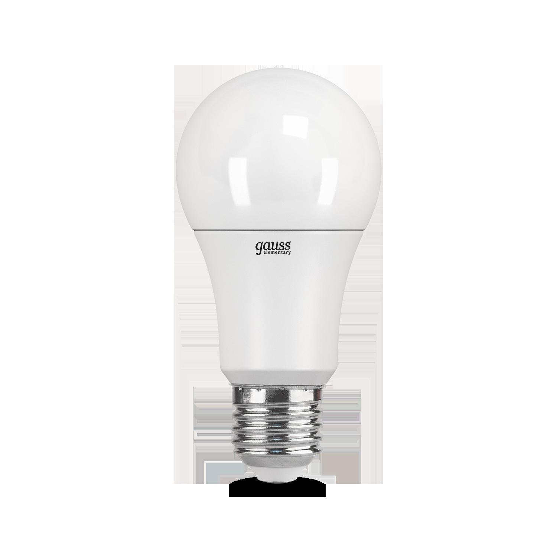 Светодиодная лампа Gauss Elementary 23230 груша E27 10W, 6500K (холодный) CRI>80 180-240V, гарантия 2 года - фото 2