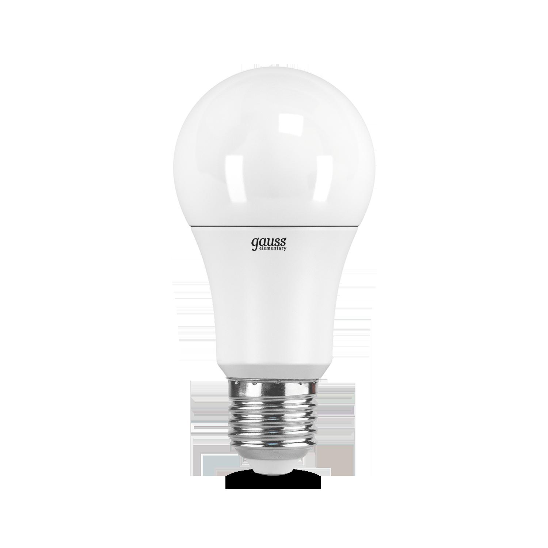 Светодиодная лампа Gauss Elementary 23232 груша E27 12W, 6500K (холодный) CRI>80 180-240V, гарантия 2 года - фото 2