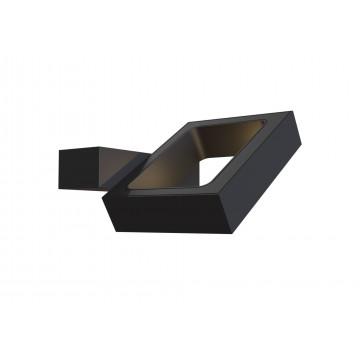 Настенный светильник с регулировкой направления света Maytoni Flo C028WL-L6B 3200K (дневной), черный, металл