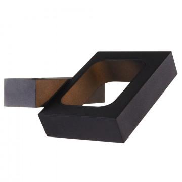 Настенный светильник с регулировкой направления света Maytoni Flo C028WL-L6B 3200K (дневной), черный, металл - миниатюра 2
