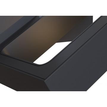 Настенный светильник с регулировкой направления света Maytoni Flo C028WL-L6B 3200K (дневной), черный, металл - миниатюра 3