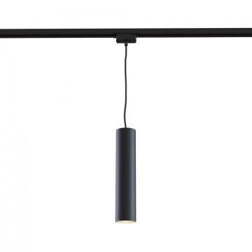 Подвесной светильник для шинной системы Maytoni Track TR008-1-GU10-B, 1xGU10x50W, черный, металл