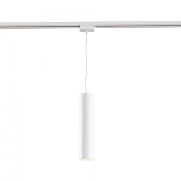 Подвесной светильник для шинной системы Maytoni Track TR008-1-GU10-W, 1xGU10x50W, белый, металл