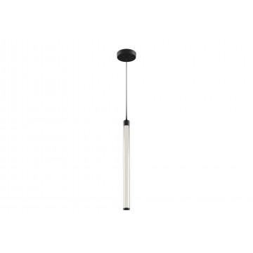 Подвесной светодиодный светильник Maytoni Ray P021PL-L10B, LED 10W 3000K 950lm CRI82, черный, белый с черным, металл, пластик