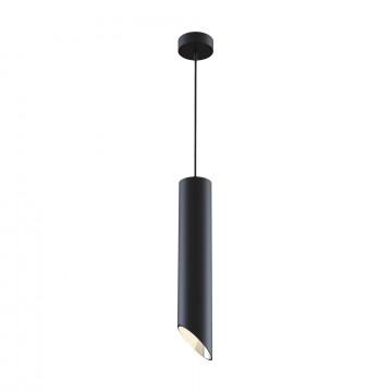 Подвесной светильник Maytoni Vela P027PL-01B, 1xGU10x50W, черный, металл
