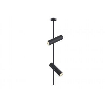 Потолочный светильник с регулировкой направления света Maytoni Elti C021CL-02B, 2xGU10x50W, черный, металл