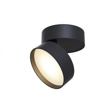 Потолочный светильник с регулировкой направления света Maytoni Onda C024CL-L18B 3000K (теплый), черный, металл