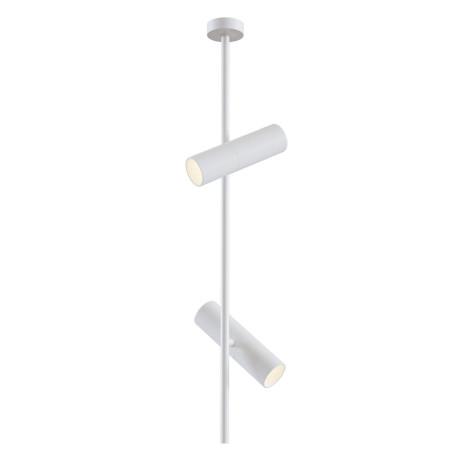 Потолочный светильник с регулировкой направления света Maytoni Elti C021CL-02W, 2xGU10x50W, белый, металл