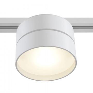 Светодиодный светильник Maytoni Onda TR007-1-18W3K-W, LED 18W 3000K 990lm CRI82, белый, металл, металл с пластиком