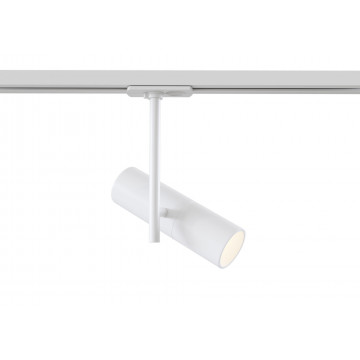 Светильник с регулировкой направления света для шинной системы Maytoni Track TR005-1-GU10-W, 1xGU10x50W, белый, металл