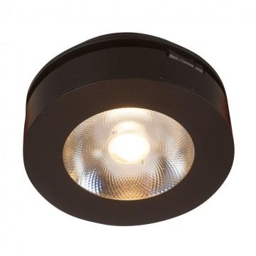 Встраиваемый светильник с регулировкой направления света Maytoni Magic DL2003-L12B, черный, металл