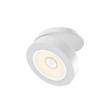 Встраиваемый светодиодный светильник с регулировкой направления света Maytoni Magic DL2003-L12W, LED 12W, 3000K (теплый), белый, металл