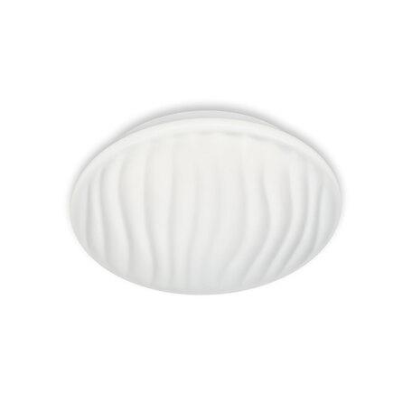 Потолочный светодиодный светильник Citilux Дюна LED CL72012, IP44, LED 12W 3000K 800lm, белый, металл, пластик