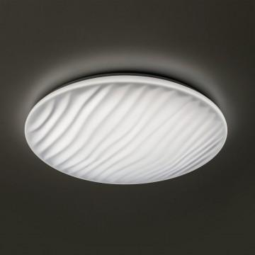 Потолочный светодиодный светильник с пультом ДУ Citilux Дюна LED CL72060RC, IP43, LED 60W 3000-4500K + RGB 3900lm, белый, металл, пластик - миниатюра 3