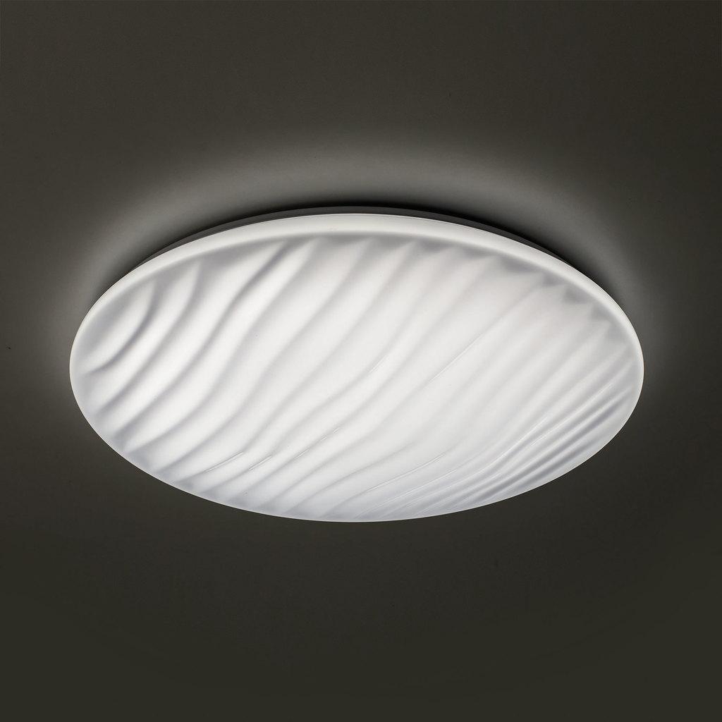 Потолочный светодиодный светильник с пультом ДУ Citilux Дюна LED CL72060RC, IP43, LED 60W 3000-4500K + RGB 3900lm, белый, металл, пластик - фото 3
