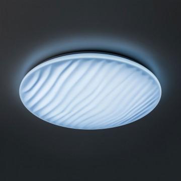 Потолочный светодиодный светильник с пультом ДУ Citilux Дюна LED CL72060RC, IP43, LED 60W 3000-4500K + RGB 3900lm, белый, металл, пластик - миниатюра 4