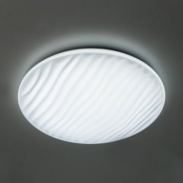 Потолочный светодиодный светильник с пультом ДУ Citilux Дюна LED CL72060RC, IP43, LED 60W 3000-4500K + RGB 3900lm, белый, металл, пластик - миниатюра 5
