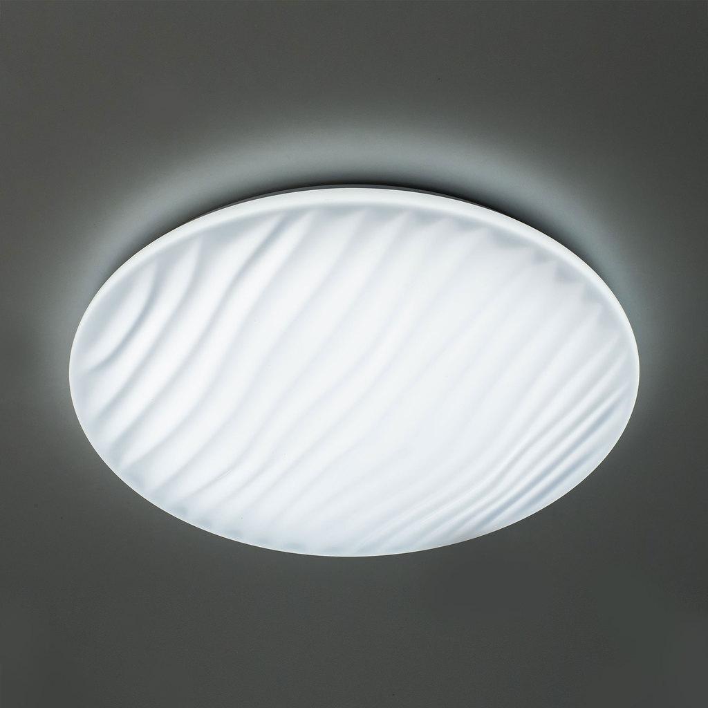Потолочный светодиодный светильник с пультом ДУ Citilux Дюна LED CL72060RC, IP43, LED 60W 3000-4500K + RGB 3900lm, белый, металл, пластик - фото 5