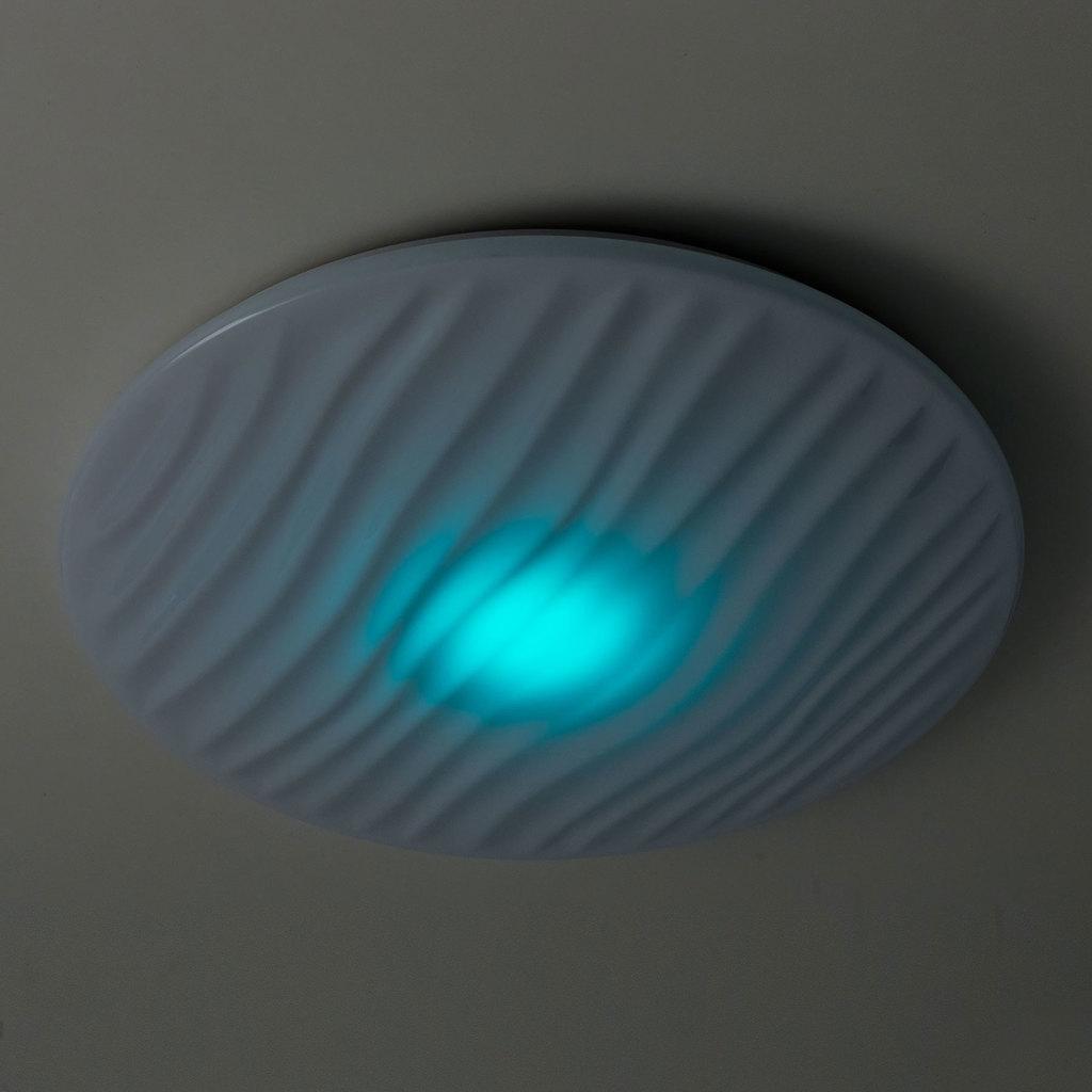 Потолочный светодиодный светильник с пультом ДУ Citilux Дюна LED CL72060RC, IP43, LED 60W 3000-4500K + RGB 3900lm, белый, металл, пластик - фото 6