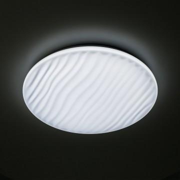 Потолочный светодиодный светильник с пультом ДУ Citilux Дюна LED CL72060RC, IP43, LED 60W 3000-4500K + RGB 3900lm, белый, металл, пластик - миниатюра 8