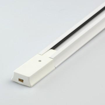 Шинопровод De Markt TR 2*1,5M WT, белый, металл, пластик