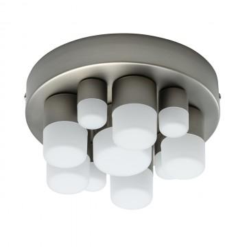 Потолочная светодиодная люстра De Markt Морфей 710010210, LED 20W 3000K, никель, белый, металл, пластик