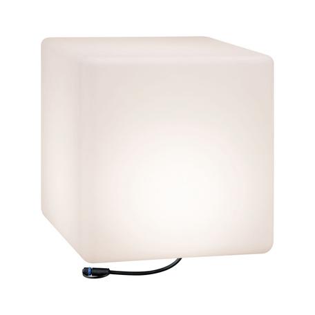 Садовый светодиодный светильник Paulmann Plug & Shine Cube 94182, IP67, LED, белый