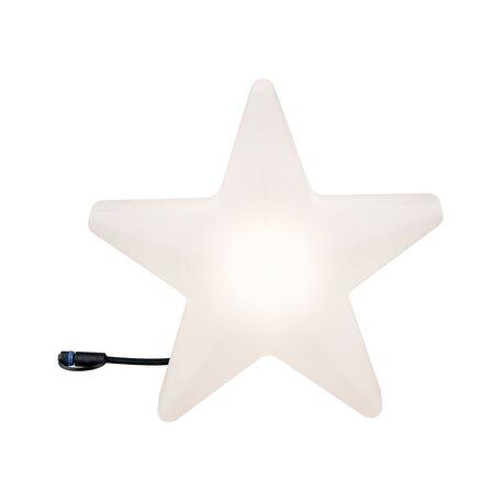Садовый светодиодный светильник Paulmann Plug & Shine Star 94184, IP67, LED 2,8W, белый, пластик