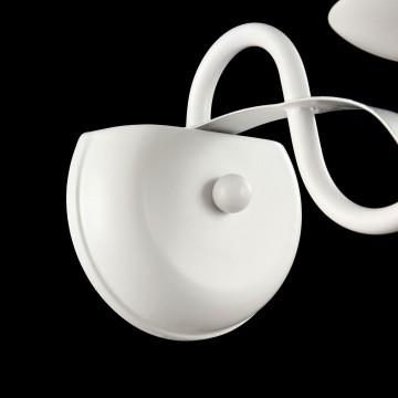 Бра Freya Diana FR5569-WL-01-W (fr569-01-w), 1xE14x40W, белый, серебро, металл, текстиль - миниатюра 4