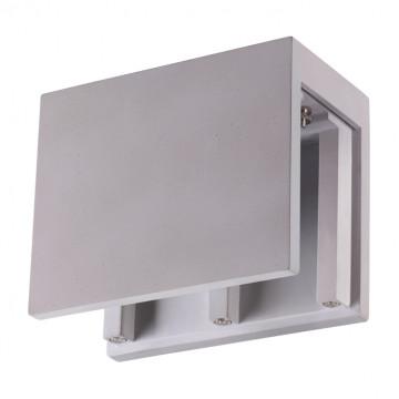 Основание потолочного светильника Novotech Legio 370505, 2xGU10x50W, серый, бетон