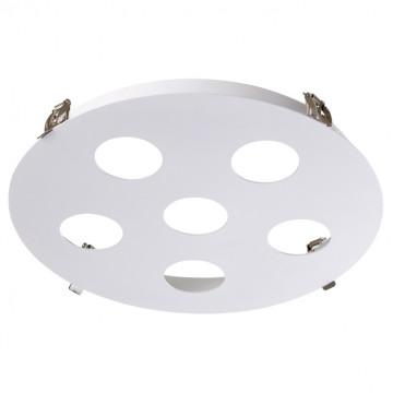 Основание встраиваемого светильника Novotech Konst Carino 370567, 6xGU10x50W, белый, металл
