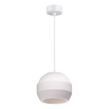 Подвесной светильник Novotech Over Cail 370516, 1xE27x60W, белый, гипс