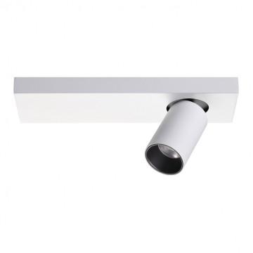 Потолочный светодиодный светильник с регулировкой направления света Novotech Bella 357934, LED 11W 3000K 691lm, белый, черно-белый, металл