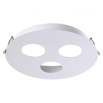 Встраиваемый светильник Novotech 370566, белый, металл
