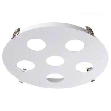 Встраиваемый светильник Novotech 370567, белый, металл