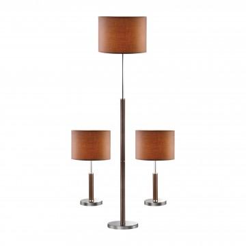 Комплект из торшера и двух настольных ламп Favourite Super-set 1427-SET